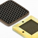 Honeycomb vent panel filters