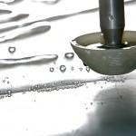 Taglio a getto d'acqua-particolare