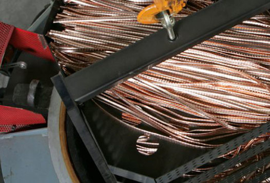 Trattamento termico di tempra per garantire l'effetto molla di componenti in lega di rame – berillio - Prodotti Custom