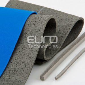 Guarnizioni in silicone con fili metallici orientati