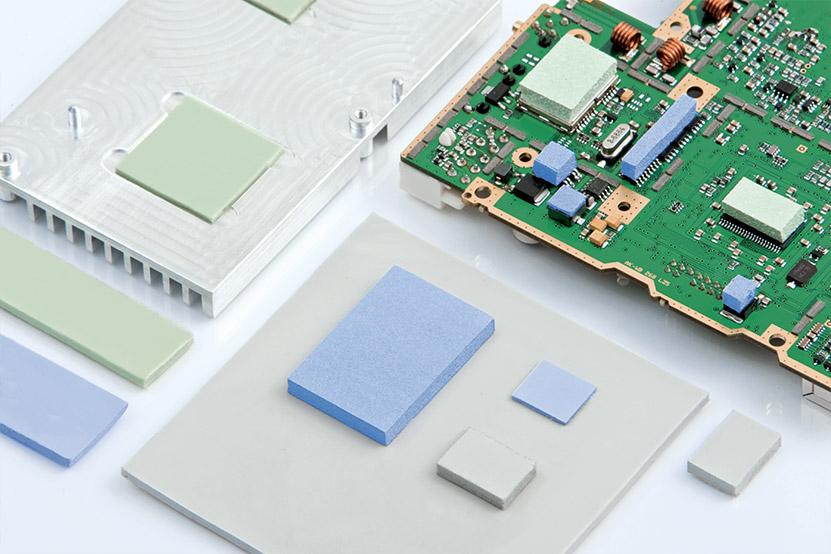 Interfaces ou matelas thermiques